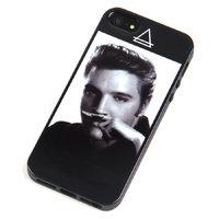 Силиконовый чехол накладка для iPhone 5s / SE / 5 Элвис Пресли - Elvis Presley