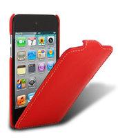 Кожаный чехол книжка Melkco для iPod Touch 4 Leather Case Jacka Type (Red LC)