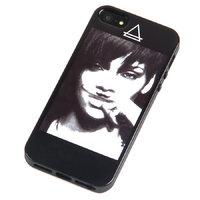 Силиконовый чехол накладка для iPhone 5s / SE / 5 Рианна - Rihanna
