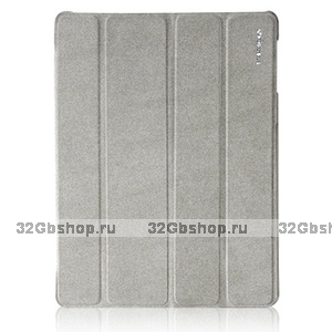 Чехол Borofone для iPad 4 / 3 / 2 - Borofone Nm smart case Grey