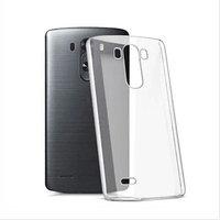 Тонкий прозрачный силиконовый чехол для LG G4