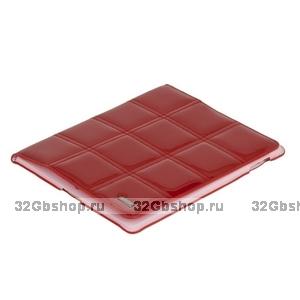 Чехол HOCO для iPad 4  / 3/ 2 - HOCO Jane Eyre Leather case Red