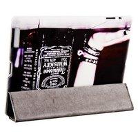 Чехол Jisoncase для iPad 4/ 3/ 2 черный виски Jack Dаniels