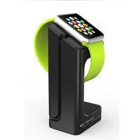 Подставка держатель для зарядки часов Apple Watch черная