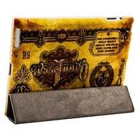 Чехол Jisoncase для iPad 4/ 3/ 2 с рисунком 1 рубль