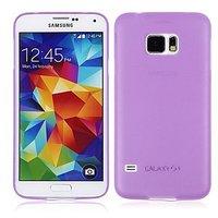 Фиолетовый ультратонкий чехол для Samsung Galaxy S6 - 0.3mm Ultra Thin Matte Case Purple