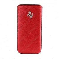 Чехол карман c язычком для iPhone 5 / 5s / SE красный
