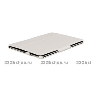 Чехол кожаный Armor Case для iPad 4 / 3/ 2 белый