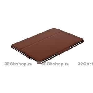 Чехол кожаный Armor Case для iPad 4 / 3/ 2 коричневый