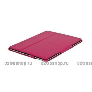 Чехол кожаный Armor Case для iPad 4 / 3/ 2 розовый