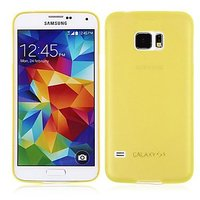 Желтый ультратонкий чехол для Samsung Galaxy S6 - 0.3mm Ultra Thin Matte Case Yellow
