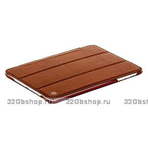 Чехол HOCO для iPad mini  HOCO Litich real leather case Brown