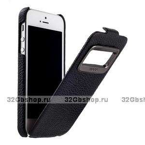 Чехол HOCO для iPhone 5s / SE / 5 - HOCO Leather Case Marquess Black черный