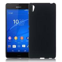 Черный силиконовый чехол для Sony Xperia Z4