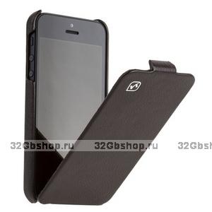 Кожаный чехол HOCO для iPhone 5 / 5s / SE - HOCO Duke Leather Case Coffee