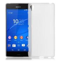 Белый силиконовый чехол для Sony Xperia Z4