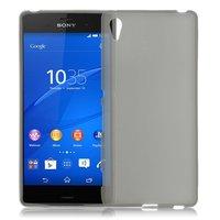 Серый силиконовый чехол для Sony Xperia Z4