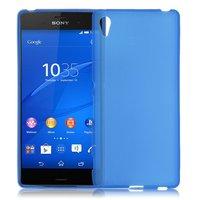 Синий силиконовый чехол для Sony Xperia Z4