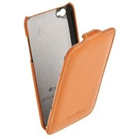 Кожаный чехол книжка Melkco для iPod Touch 4 Leather Case Jacka Type (Orange LC)