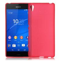 Красный силиконовый чехол для Sony Xperia Z4