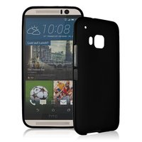 Черный силиконовый чехол для HTC One M9