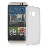Белый силиконовый чехол для HTC One M9