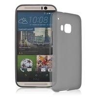 Серый силиконовый чехол для HTC One M9