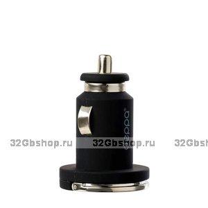 Автомобильное зарядное устройство Deppa Ultra USB + USB Type-C для iPhone 5 / 4s / 4 /iPad - 3.4A