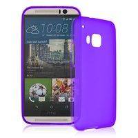 Фиолетовый силиконовый чехол для HTC One M9