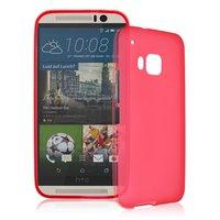 Красный силиконовый чехол для HTC One M9