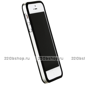 Бампер Griffin для iPhone 5 / 5s / SE черный