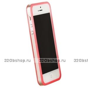 Бампер Griffin для iPhone 5 / 5s / SE розовый