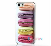 Пластиковый чехол накладка для iPhone 5s / SE / 5 печенье Макорони