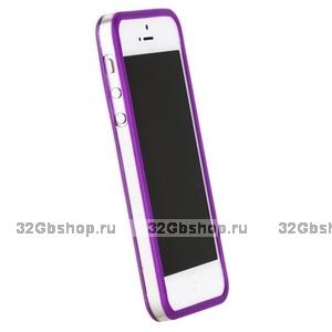 Бампер Griffin для iPhone 5 / 5s / SE фиолетовый