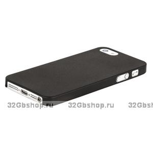 Накладка супер тонкая для iPhone 5 / 5s / SE - черная