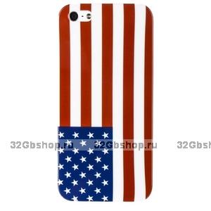 Накладка для iPhone 5 / 5s / SE флаг США