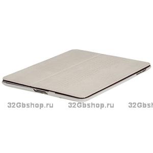 Кожаный чехол Borofone Crocodile pattern White для iPad 4 / 3 / 2 белый