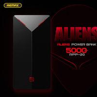 Внешний универсальный аккумулятор Remax ALIENS Power Bank 5000 mAh черный