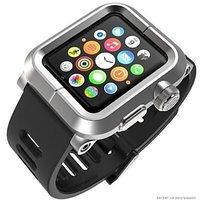 Защитный алюминиевый чехол с ремешком EPIK Apple Watch Kit для Apple Watch 42mm серебряный