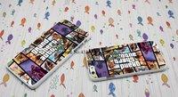 """Пластиковый чехол накладка белая для iPhone 6 / 6s (4.7"""") с рисунком Grand Theft Auto V (GTA V) ГТА"""