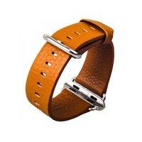 Кожаный ремешок для Apple Watch 38мм коричневый - G-Case Genuine Leather Watchband Brown