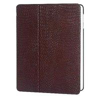 Кожаный чехол Borofone Crocodile pattern Brown для iPad 4 / 3 / 2 коричневый
