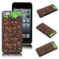 Пластиковый чехол накладка для iPhone 5s / SE / 5 рисунок Minecraft (Майнкрафт)