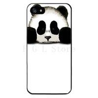 Пластиковый чехол накладка для iPhone 5s / SE / 5 Панда - panda