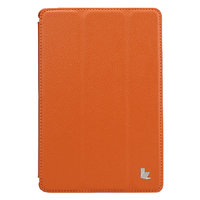 Чехол книжка Jisoncase для iPad mini 3 / 2 оранжевый - Jisoncase Smart Case for iPad Mini Retina Orange