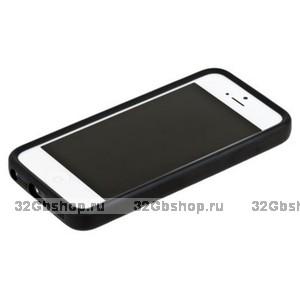 Бампер для iPhone 5 / 5s / SE черный