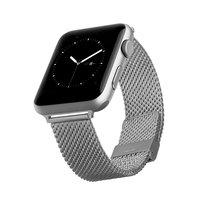Браслет металлический плетеный сетчатый COTEetCI для Apple Watch 38мм Миланский ремешок