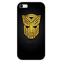 Пластиковый чехол накладка для iPhone 5s / SE / 5 рисунок Трансформеры (Transformers Autobots)