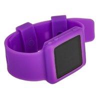 Силиконовый чехол браслет для iPod nano 6  фиолетовый