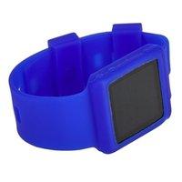 Силиконовый чехол браслет для iPod nano 6  синий